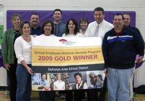 DASD receives employee wellness award