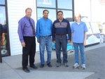 Image of Mr. Finke and Mobil Staff