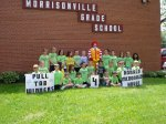 Morrisonville Elementary School pop tops contest winners