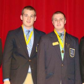 DECA District Winners