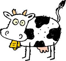 Mooving for a cure cow