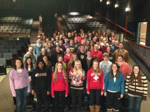 Band-Choir to attend state