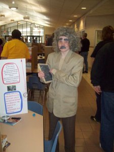 Riley Herrick as Albert Einstein