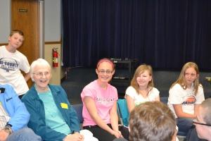 Mason Endres (background), Monica Tschanz, Jordy Wilson, Heather Hansen, & Adrianna Duffrin