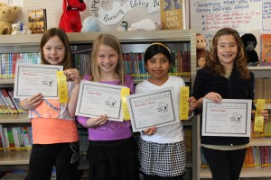 Windsor Elementary School: Ellee Bierman, Jenna Voegeli, Maria Olvera, and Marina Claudio. They tied for 37th.