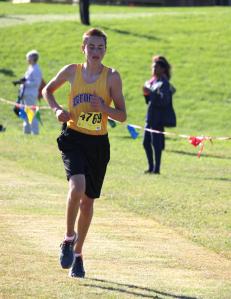Photo of DAHS Cross Country runner