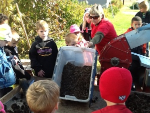 Learning about seed collecting, cleaning and processing to get seed ready for replanting in prairie restoration areas