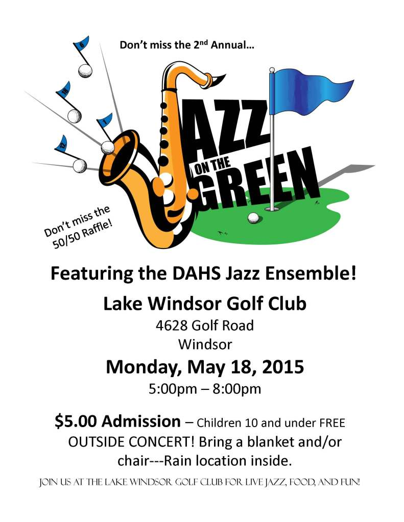 Jazz on the green 2015