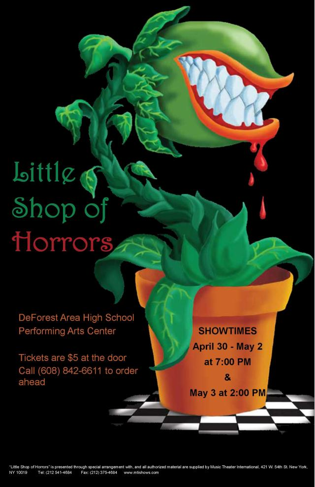 Little Shop of Horrors Poster 2015