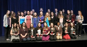 group photo of forensics team