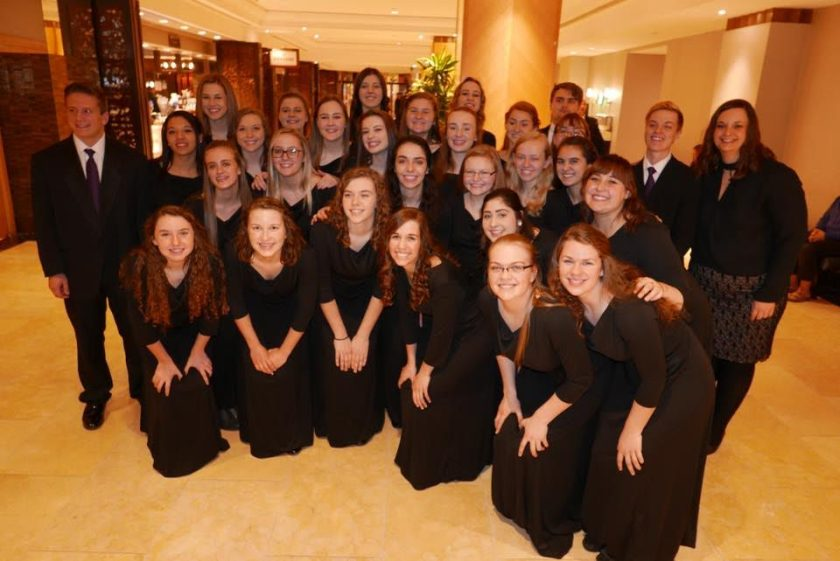 DAHS students before Carnegie Hall performance