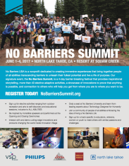 No Barriers Summit flyer