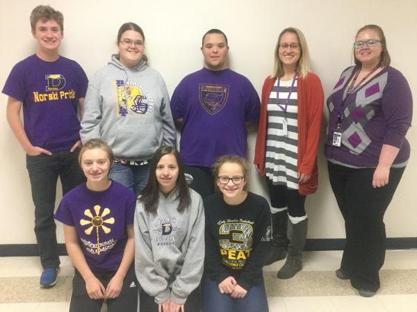 DAHS students and teachers