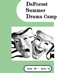 Summer Drama Camp, June 18-July 13