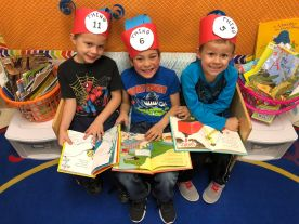 Students in Ms. Soling's kindergarten class