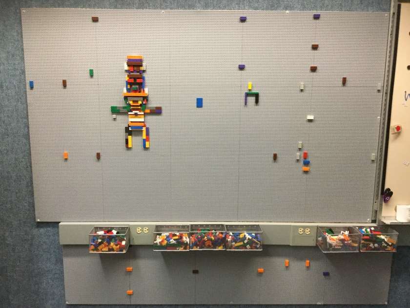 YES Lego Wall