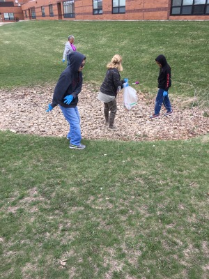 Earth Day clean up