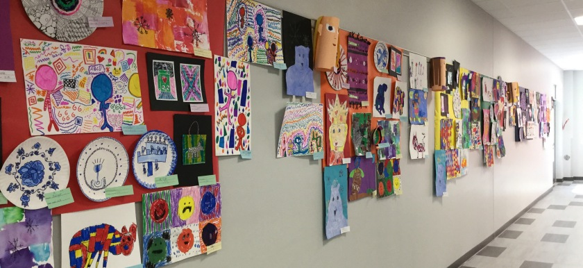 EPES Fine Arts Night artwork