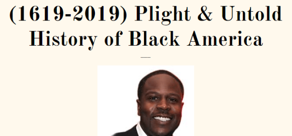 JUNETEENTH presentation title with photo of Percy Brown