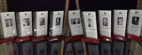 hall of fame plaques