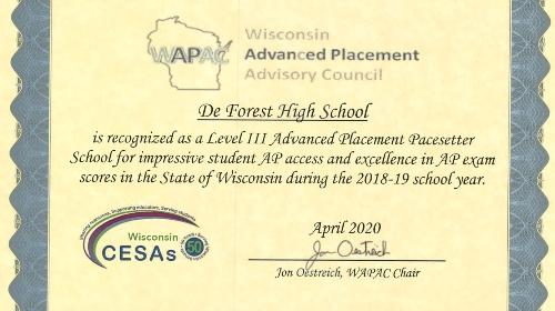 WAPAC certificate