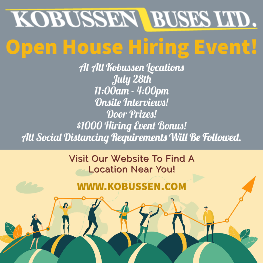 Kobussen open house