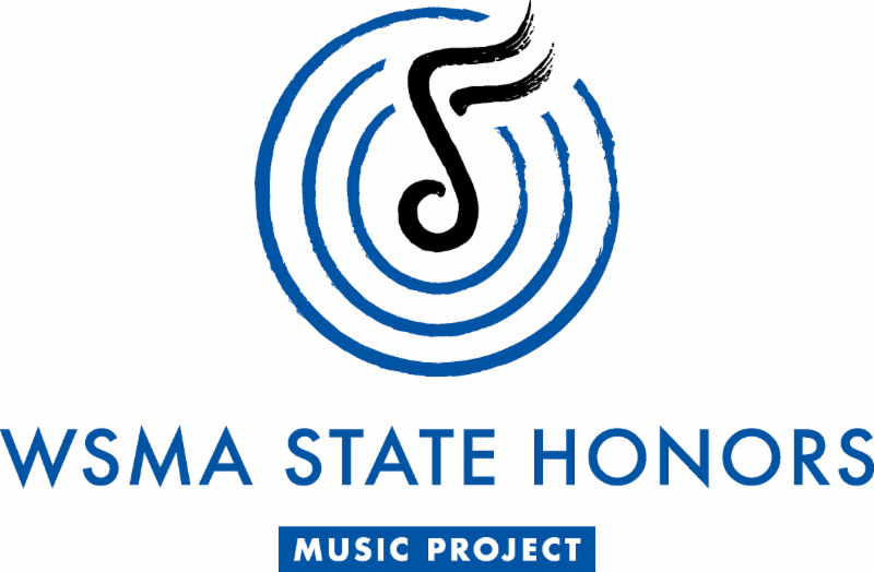 WSMA State Honors music project logo